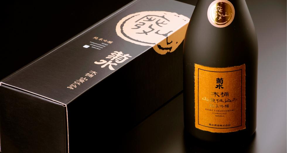 木桶 山廃仕込み 純米吟醸 菊水 720ml